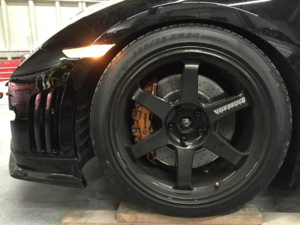 Nissan GTR Ntune Bumper Splitter