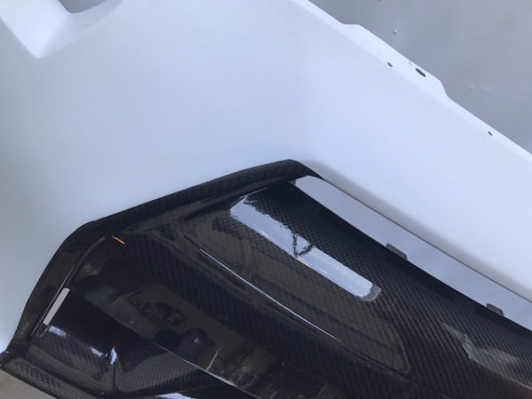 n-tune front bumper raw 4