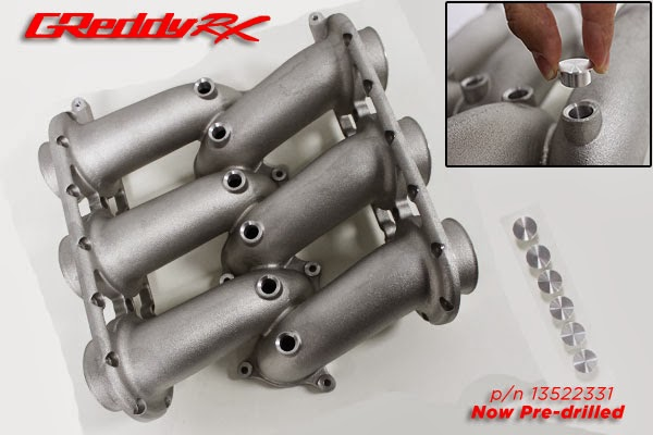 Greddy RX Intake Manifold Injector Bosses R35 GTR
