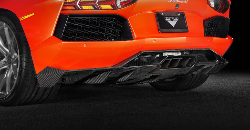 Vorsteiner Aventador V Rear Diffuser