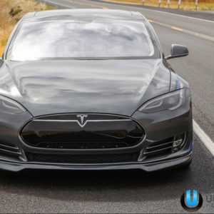 Unplugged Performance Model S Front Spoiler Diffuser System