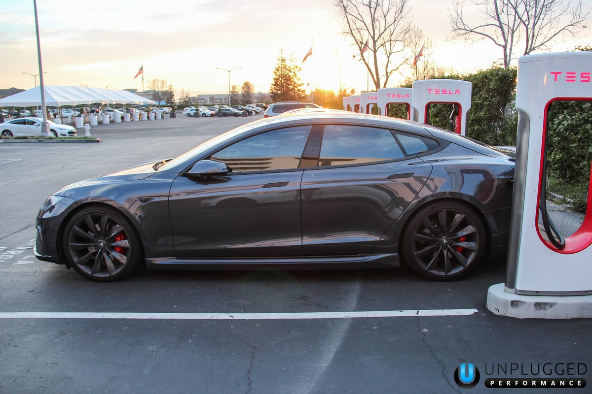 Unplugged Urethane Side Skirts: Tesla Model S (2012 ...