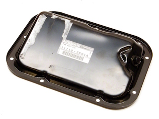 Nissan OEM 11110-JF01A Lower Oil Pan VR38DETT: 2009-2017 Nissan R35 GTR