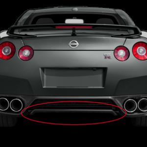 Nissan 748A0 KB51A Dba Rear Carbon Fiber Underpanel 3 Copy