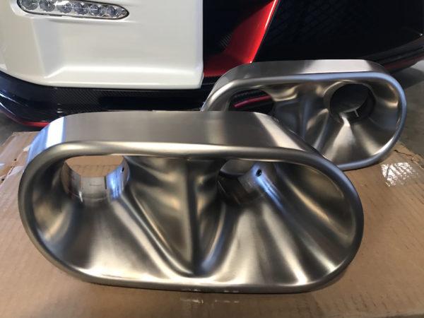 Nissan GTR Nismo Exhaust Tip 1