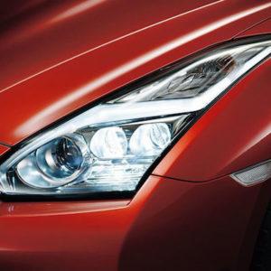 Nissan OEM 26060-62B2A LED Headlight Assembly (Set LH/RH): 2015+ Nissan R35 GTR