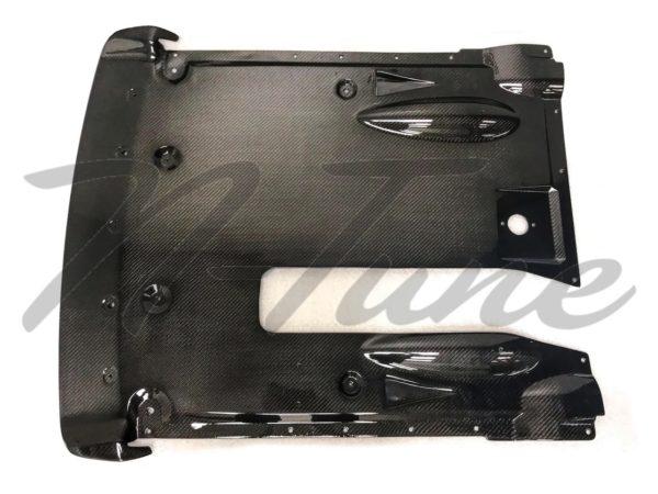 N-Tune DBA Rear Undertray CF2-1