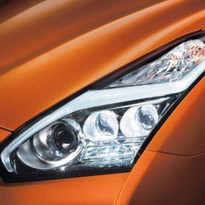 Nissan OEM 26060-6AV2A LED Headlight Assembly (Set LH/RH): 2017+ Nissan R35 GTR
