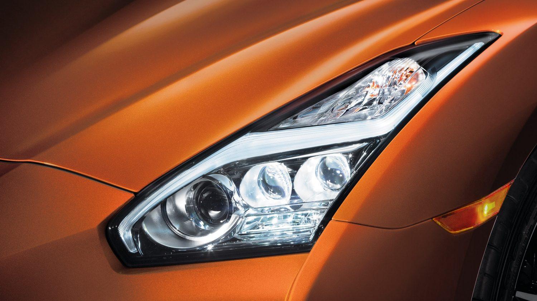 Nissan OEM 26060-6AV2A LED Headlight Assembly (Set LH/RH ...