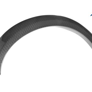 YMP Design Carbon Fiber Fender Flares (Front Pair): 2017+ Ford Raptor Gen 2